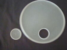Tupperware Replacement Seals 219  & 201 for Pour-All Sheer Lid Only Sheer 7.5""
