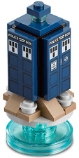 Lego New And Unbuilt Dr. Who Tardis From The Lego Dimension Series Doctor Who