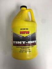Tint-Off Adhesive Removal Fluid  Easy Removal Tint Film 1 Gallon  Made in USA