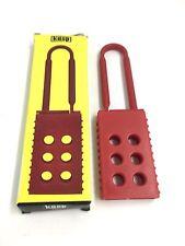 CK Kasp 205-K20518 Nylon SERIES Lock Out (OFF) Sicurezza PORTALUCCHETTO-K205 - 18mm