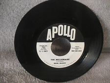 Ersel Hickey, The Millionaire / Upside Down Love, Apollo 761, PROMO, Rockabilly