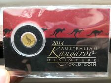 2014 Australian Kangaroo 999 Gold coin