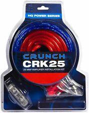 Crunch CRK25 25 qmm Verstärker Anschlusskit Kabelset