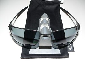 Oakley Sonnenbrille Square Wire II Carbon Polarized Wiretap Blade Gauge Inmate