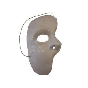 Maske Phantom der Oper - eine Gesichtshälfte