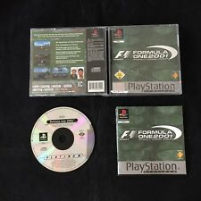 PS1 Formula One 2001 OVP Sony Playstation 1 #PS1#01438