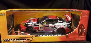 1/18 Jada Toys Toyota Supra Turbo MKIV Diecast Option D Dub Veilside JDM
