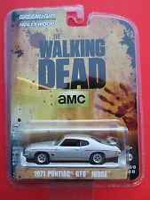 "GREENLIGHT HOLLYWOOD 2016- ""THE WALKING DEAD AMC"" 1971 PONTIAC GTO JUDGE"