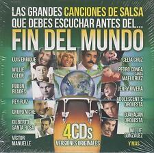 CD - Las Grandes Canciones De Salsa NEW Fin Del Mundo 4 CD's FAST SHIPPING !