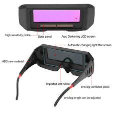 HighQuality Solar Auto Darkening Welding TIG MIG Goggles Welder Eyes Glasses