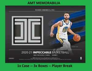 Shaquille O'Neal  2020/21 20/21 Panini Impeccable 1X CASE 3X BOX BREAK #15