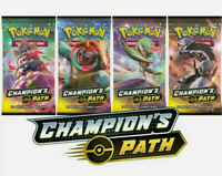 1x Champions Path Booster Pack - New - Official Sealed Pokemon Trading Card Game