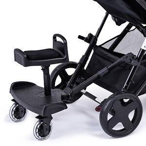 Buggy Step planche avec siège ou selle compatible avec Britax Poussette landau système