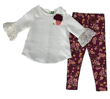 Dollie & Me Girls' Top and Legging Set , Size 5