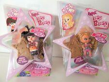 Bratz Itsy Bitsy Rock Pop Stars Mini Dolls Jade Yasmin Hair Flair NEW
