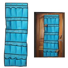20 Pockets Over the Door Shoe Organizer Rack Hanging Storage Space Saver Holders