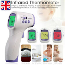 IR Infrared Digital Non-Contact Forehead Thermometer Adult/Baby Temperature Gun.