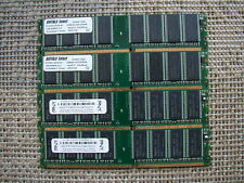 New listing 4Gb 4 x 1Gb Pc3200 Ddr400 184pin Ddr1 Non-Ecc Dimm Low Density Desktop Memory