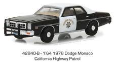 Greenlight 1:64 Hot Pursuit #27 1978 Dodge Monaco California Highway Patrol Car