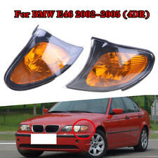Front Indicator Turn Signal Yellow Corner Light For BMW 3 Series E46 2002-2005