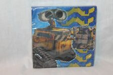 NEW IN PACKAGE DISNEY WALL-E  16 DESSERT NAPKINS PARTY SUPPLIES 8 FEET LONG