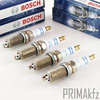 4x BOSCH 0242240619 Zündkerzen Doppelplatin FR6MPP332 Mercedes W203 W204 W220