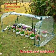 Greenhouse Cover 120x60x50cm Transparent PVC Tunnel  Waterproof Anti-UV Protects