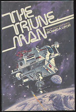 Fiction: THE TRIUNE MAN by Richard Lupoff. 1976. Signed 1st edition.