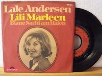 """7"""" Single - LALE ANDERSEN - Lili Marleen - Blaue Nacht am Hafen"""