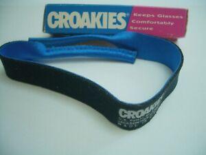 CROAKIES Eyewear Retainer - Boxed, Vintage 1980s