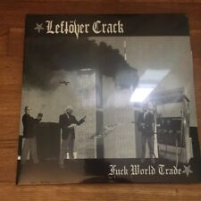 LEFTOVER CRACK - FUCK WORLD TRADE  VINYL LP Re-issue Colored Vinyl /522 12""