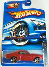 2006 Hot Wheels '70 CHEVELLE #86 ~ 1/5 MOTOWN METAL [Red] - NIB