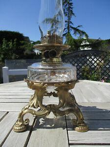 RARE LAMPE A PETROLE ANCIENNE