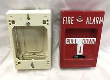 RSG RMS-1T T-Bar Fire Alarm Pull Station - w/ Wiremold Back Box