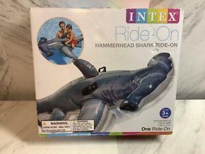 Intex Swimming Pool Hammerhead Shark Ride-On Float/Toy