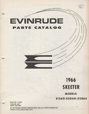 1966 EVINRUDE SKEETER SNOWMOBILE PARTS MANUAL 112502 (649)