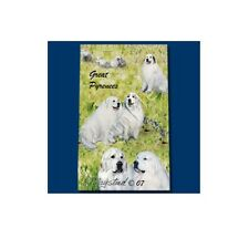 Roller Ink Pen Dog Breed Ruth Maystead Fine Line - Great Pyrenees
