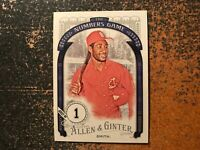 Ozzie Smith Cardinals 2016 Topps Allen & Ginter The Numbers Game Insert #48