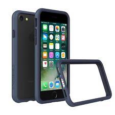 iPhone 8/7 Case RhinoShield Bumper [11 Ft Drop Tested] ShockProof Tech-Dark Blue