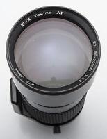 Tokina AT-X ATX 80-200mm 80-200 mm 1:2.8 2.8 AF SD - Nikon