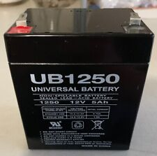 UB1250 Universal Rechargeable Non-Spillable Sealed Lead Acid Battery | 12v | 5Ah