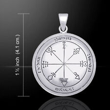 First Pentacle of Venus Seal of Solomon .925 Sterling Silver Pendant