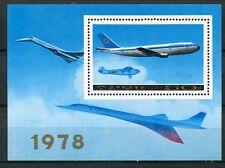 BLOC TIMBRE **    CONCORDE  AVIATION 1978 COREE
