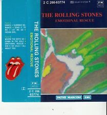 K 7 AUDIO (TAPE)  THE ROLLING STONES *EMOTIONAL RESCUE*