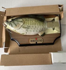 New Vintage 1998 Gemmy Big Mouth Billy Bass The Singing Sensation Motion Sensor