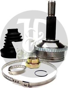JAGUAR S-TYPE 3.0 PETROL 5 SPEED REAR CV JOINT & ABS RING 1998>ONWARDS