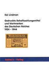 5009: Gedruckte Behelfszahlungsmittel & Wertmarken des Deutschen Reiches 1924-44