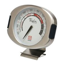 Taylor Connoisseur Stainless Steel Oven Thermometer with Silicone Accents