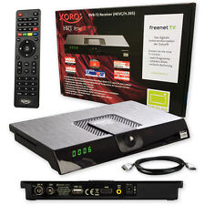 G HD DVB-T2 Receiver Xoro HRT 8720 -8724 HEVC H.265 Freenet tv  HDMI  gratis !