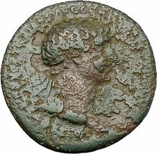 Domitian Large Possibly Unpublished Ancient Roman Coin  Aquila Standards  i41032